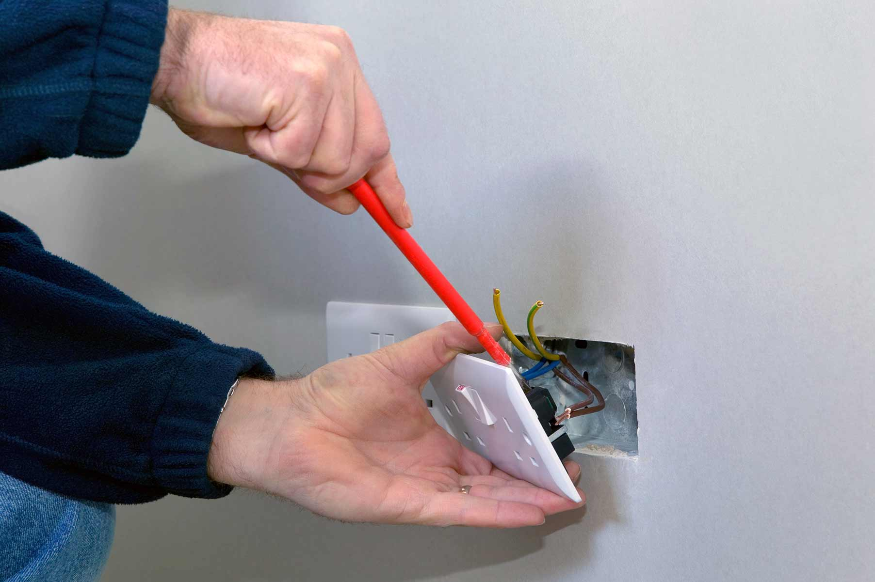 Our electricians can install plug sockets for domestic and commercial proeprties in Neasden and the local area.